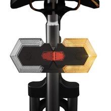 BORUiT 1 комплект Smart Беспроводной дистанционного Управление задний фонарь для велосипеда с возможностью светильник велосипед поворотники Ла...