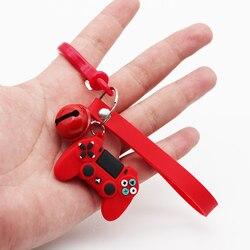 Hommes Simple jeu vidéo poignée porte-clés Couple Joystick Machine porte-clés porte-clés pour petit ami porte-clés bibelot cadeau en gros