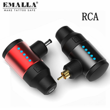 1PCS RCA Tattoo Power Supply Mini Portable Wireless Tattoo For Rotary Tattoo Pen Machine Gun Tattoo Power Supply Free Shipping free shipping 1pcs vi 260 cv power modules original new special supply welcome to order yf0617 relay