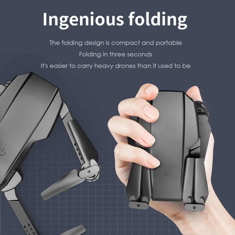 H7efe2205f217457a80afb64003b67815M - L703 Folding Drone 4K HD Aerial Photography Cameras WIFI FPV Aerial Photography Helicopter Foldable Quadcopter Drone Toys