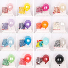 10pcs 10 inch pearlescent latex balloon holiday wedding room birthday party atmosphere decoration can be wholesale