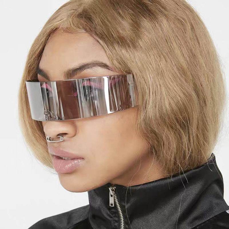 X-men Individuality Sunglasses Mercury Lens Laser Glasses Travel Windproof Sun Glasses Robots Eyewear