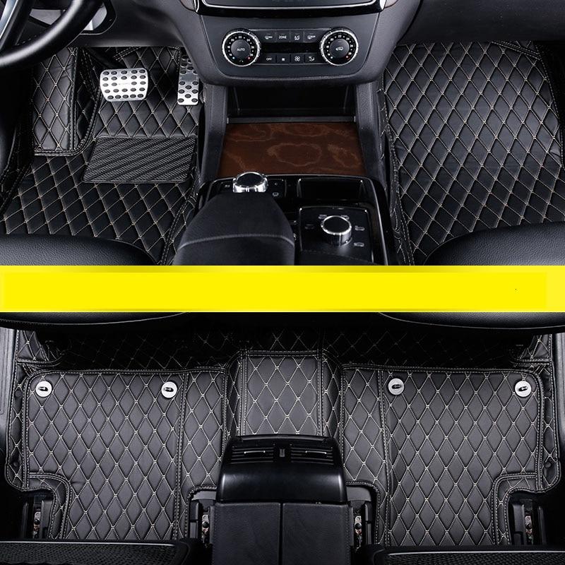 lsrtw2017 leather car floor mats for mercedes benz gle 2015 2016 2017 2018 2019 gle350d gle300 gle40 gle550 w166 coupe c292 amg|Floor Mats| |  - title=