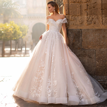Ball-Gown Beading Court-Train Lace-Up Sweetheart-Neck Princess Luxury Appliques Detmgel