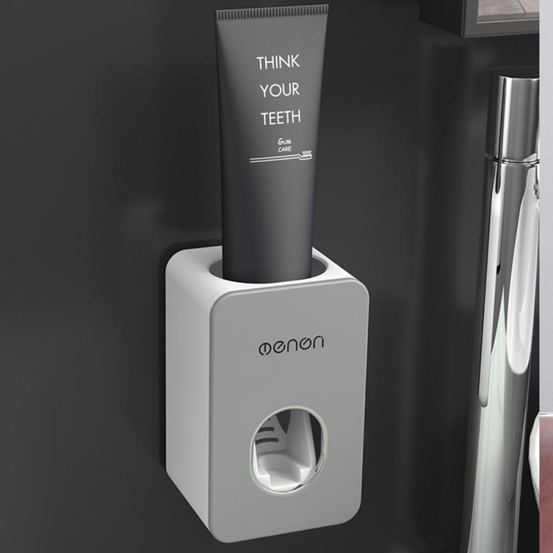 Automatic Toothpaste Dispenser Wall Mounted Bathroom