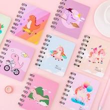 Animal Notebook Mini Cute Memo-Time-Organizer Hard-Cover School-Supplies Portable Student