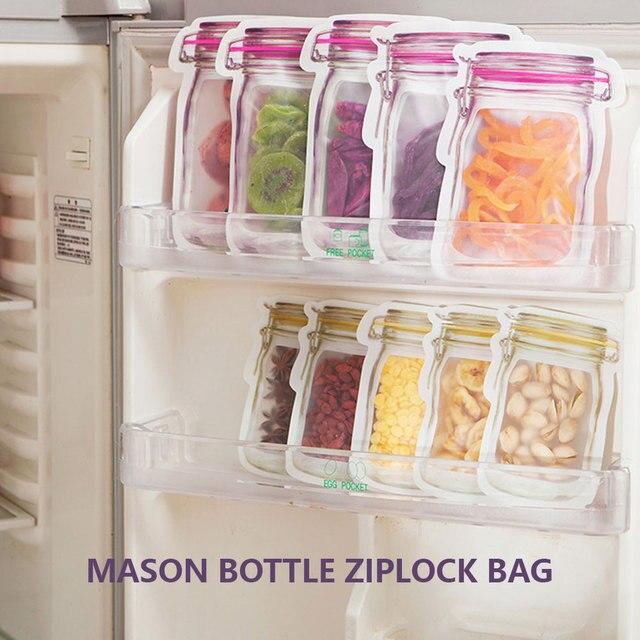 20pcs reusable mason jar bottles b