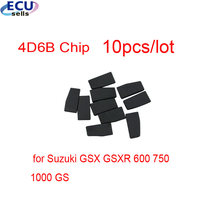 10 Pcs X 4D6B Transponder Chip Autosleutel Chip Voor Suzuki Gsx Gsxr 600 750 1000 Gs(China)