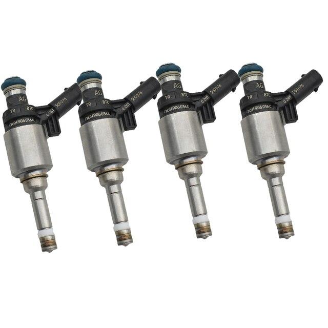 원래 4 개/몫 06H906036G 06H906036E 06H906036P 연료 주입기 A3 A4 A5 A6 Q3 Q5 TT 2.0T L4