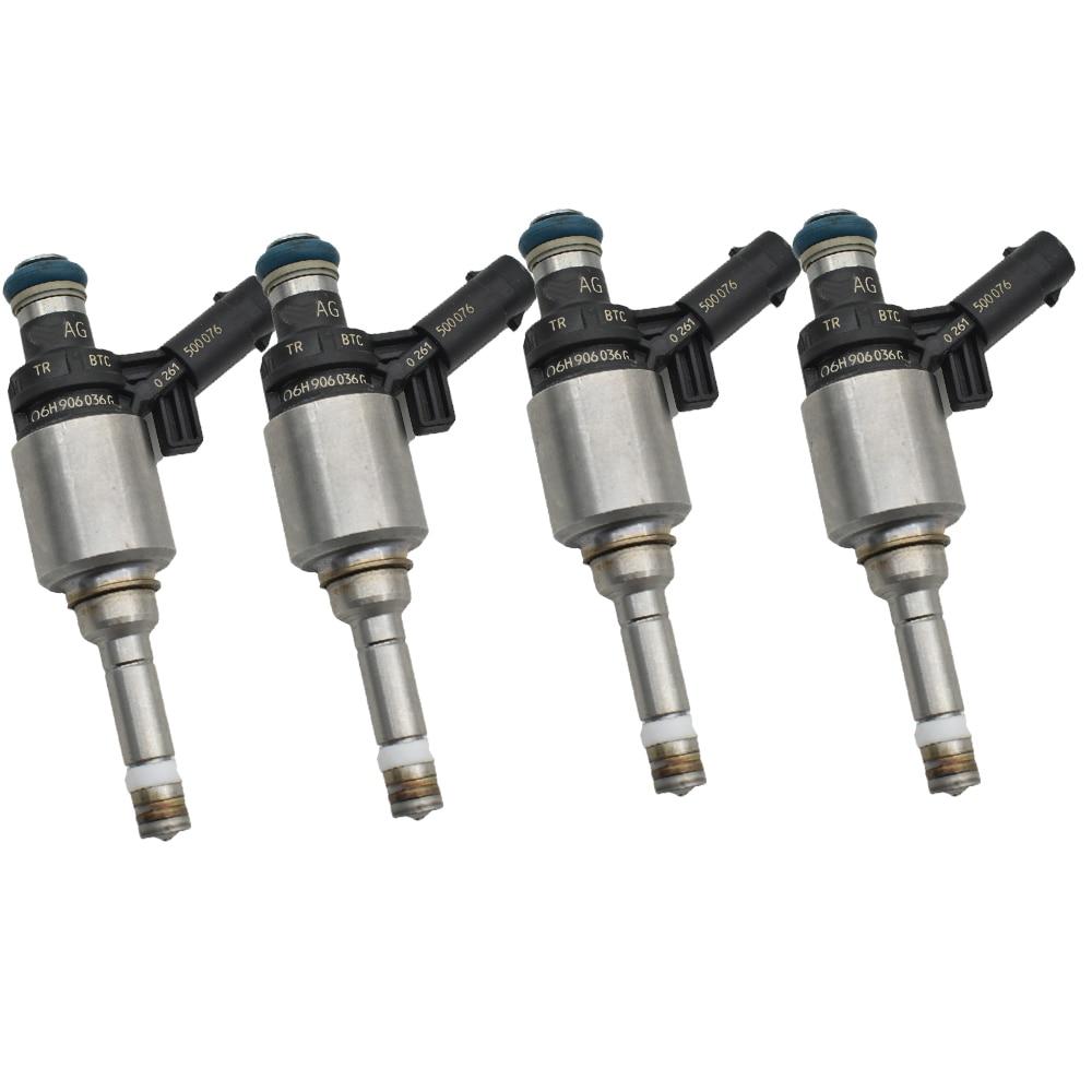 original 4pc/lot 06H906036G 06H906036E 06H906036P fuel injector for AUDI A3 A4 A5 A6 Q3 Q5 TT 2.0T L4