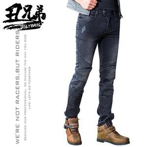 Image 1 - Uglybrosฤดูใบไม้ร่วงฤดูหนาวกางเกงยีนส์รถจักรยานยนต์กางเกงป้องกันเกียร์กลางแจ้งขี่สำหรับการเดินทางกางเกงมอเตอร์ไซด์Motocross Motoกางเกง