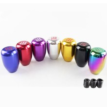 Universal Racing 5 Speed Aluminum Car Shift Knob Manual Automatic Lever YG018