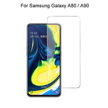For Samsung Galaxy A80 A90 Screen Protector Protective Tempered Glass 9H Hardness 2.5D 0.26mm