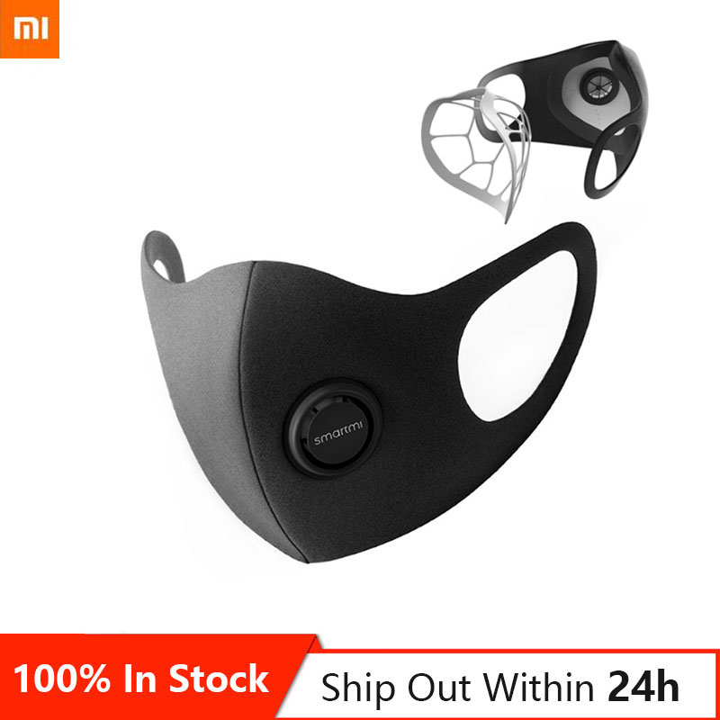 In Stock 5 Pcs Original Xiaomi Smartmi Mask Mask Professional Protection 3D Structure Mask Protection Health