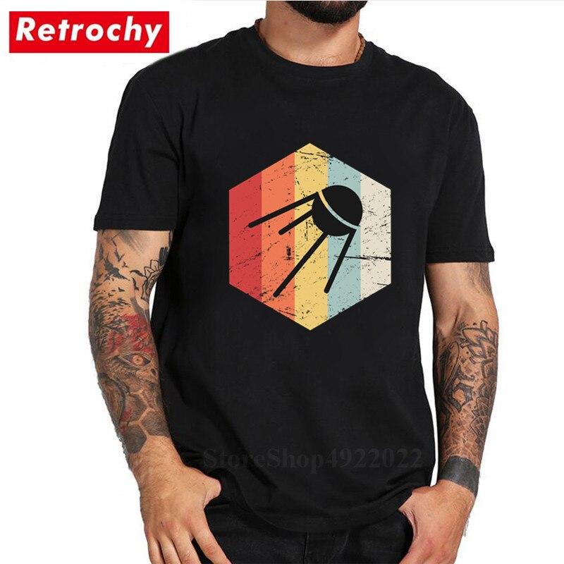 Loose T Shirt,Vintage Pattern with Circles Fashion Personality Customization