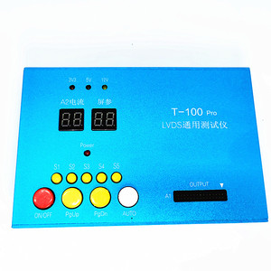 """Image 2 - LVDS LCD testing tools  Built in 100 kinds of programs to choose from Support 7 84 """"LCD screen programas Cables LVDS Inverter"""