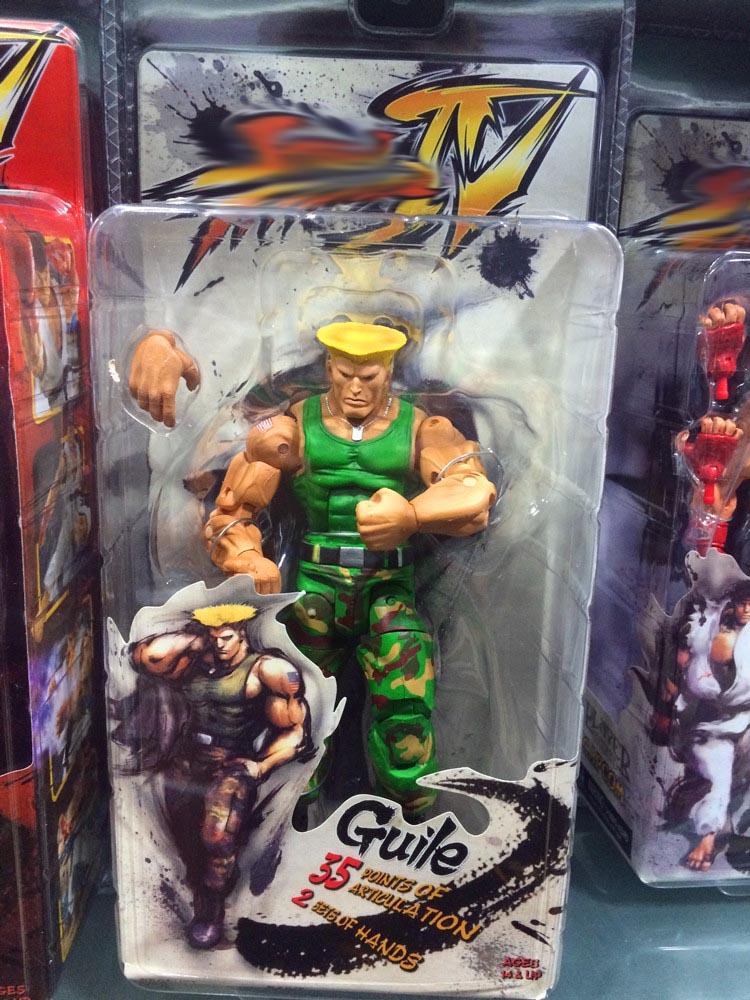 Street Fighter IV Action Figures 18cm 6