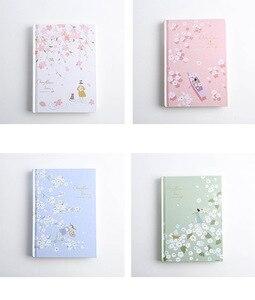 """Image 2 - """"Cherry Blossom"""" sztywne etui pamiętnik piękna sztuka rysunki notatnik dziennik notatnik darmowe notatki biurowe prezent"""