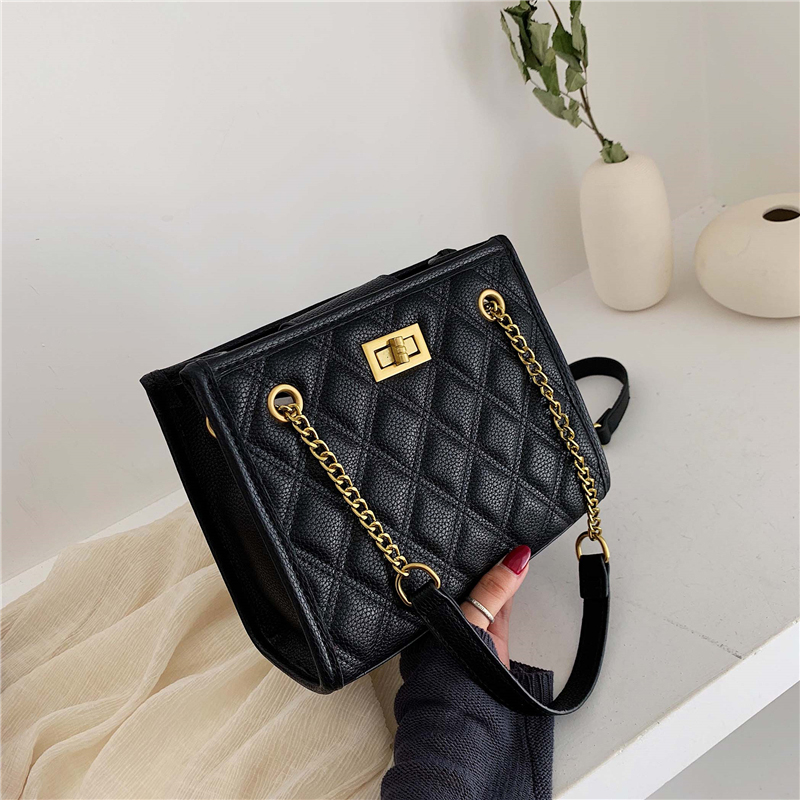 Green Large Shoulder Bag Women Travel Bags Leather Pu Quilted Bag Female Luxury Handbags Women Bags Designer Sac A Main Femme