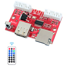 MP3 Bluetooth 5.0 Decoder Board Lossless Stereo Audio Music MP3 WAV FLAC USB Speaker Player Module With Wireless Remote Control hot onn 8gb professional lossless music mp3 hifi music player with tft screen support ape flac alac wav wma ogg mp3 format