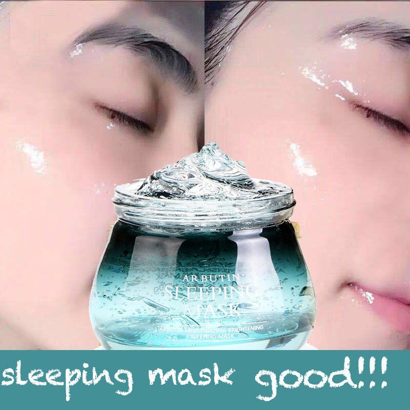 120g Face Mask Arbutin Tony Moly Sleeping Mask Skin Care Korean Sleep Mask Facial Mask Gel Lifting Visage Collagen Moisturizing