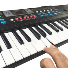 Electronic 61 Keys Digital Keyboard Microphone Electric Led Musical Instruments Digital Piano Controller Accessories For Kid