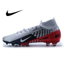 NIKE VAPOR 13 ELITE FG Soccer Shoes Superfly 7 Sneakers Men Training Football Shoes Breathable Anti-slip Lightweight Comfortable