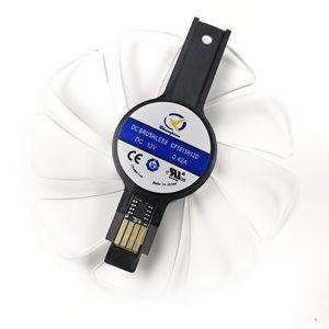 Image 2 - 95mm CF1015H12D Graphics Card Blue Led Cooler Fan for Sapphire NITRO RX480 RX470 RX580 RX570 RX590 RX 470 480 570 580 590 4G 8G