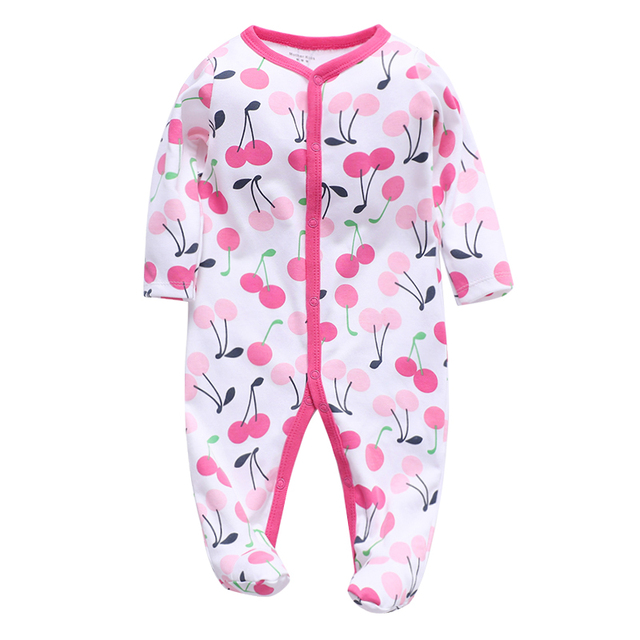 baby girls clothes infant jumpsuit newborn pajama long sleeve 3 6 9 12 months toddler child romper