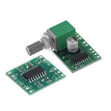 Mini pam8403 dc 5 v 2 canais usb módulo de placa de amplificador de áudio digital 2*3 w controle de volume com potência