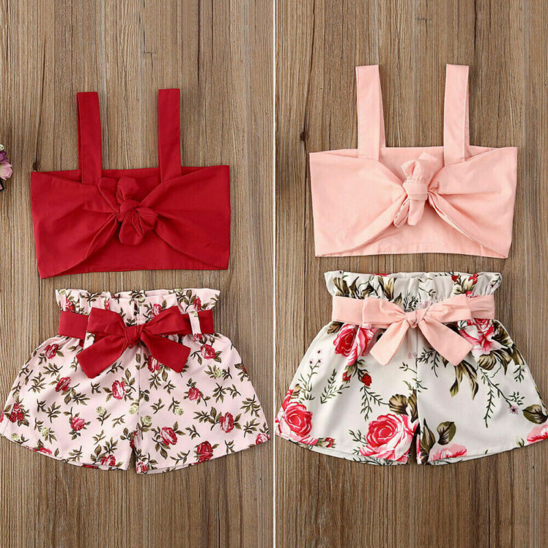 Baby Boys Shirt+Pants Set Shorts Overalls Smocked Party Pageant Spanish Outfits