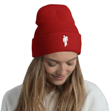 Hat Hip-Hop Winter for Woman Embroidery Beanie-Hat Knitted Autumn Male Little-Man High-Quality