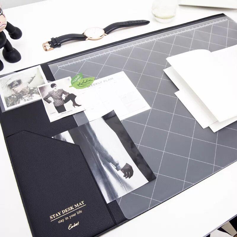Multifunctional  Fashion Desktop Organizer Pad & Laptop Mouse Pad Thickened Anti-slip  5