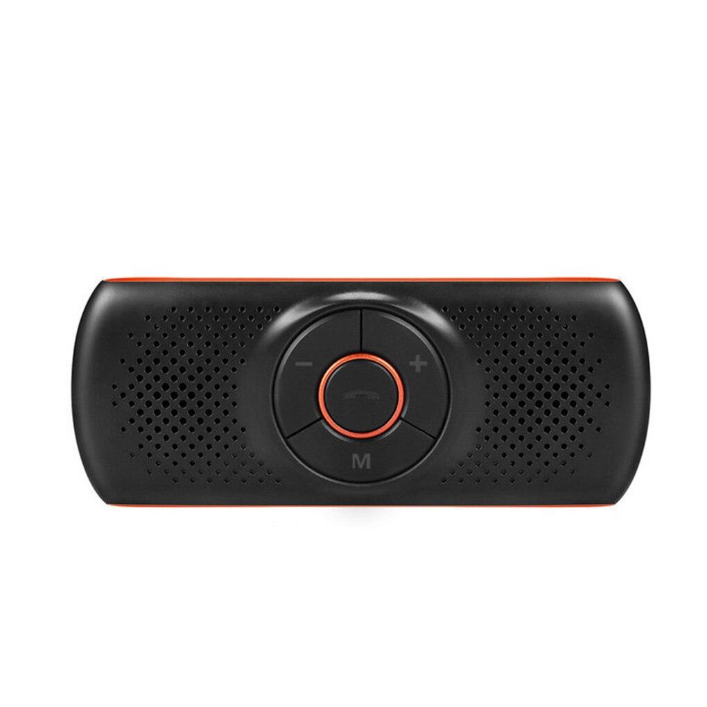 Parasole Vivavoce Bluetooth 4.2 Altoparlanti Auto 2 Telefoni Connessione Simultanea di Sostegno Della Carta di TF