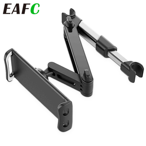 Telescopic Car Rear Pillow Phone Holder Tablet Car Stand Seat Rear Headrest Mounting Bracket for Phone Tablet 4-11 Inch