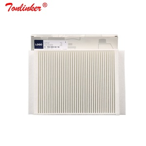 Image 2 - Cabin Filter 2 Pcs For Mercedes Benz C CLASS W205 A205 C205 S205 2013 2019 Model Built in External Air Conditioning Filter Set
