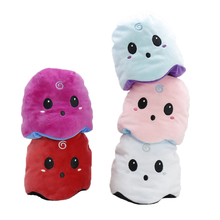 Plush-Doll Double-Sided Soft-Simulation Stuffed Cute And for Child Gifts Ghost Angry