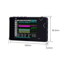 Digital Logic Analyzer LA104 USB Mini 4 Channels 100MHz Max Sampling Rate Built in 8MB Flash Storage 2.8 Inch Oscilloscope