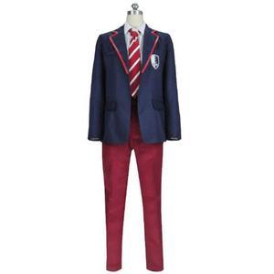 2020 Elite TV Series Netflix School Uniform Cosplay Costume Boys Custom-made For Christmas Halloween