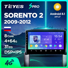 TEYES SPRO auto Radio Multimedia reproductor de Video GPS de navegación Android 8,1 para KIA Sorento 2 XM sedán DVD 2009, 2010, 2011, 2012(China)