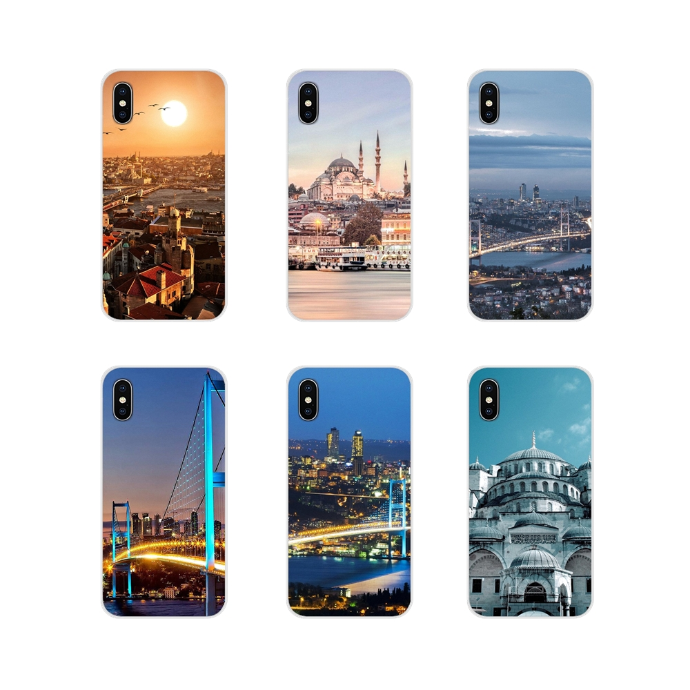 Turkey <font><b>Istanbul</b></font> Sceneary Pattern For Samsung A10 A30 A40 A50 A60 A70 M30 Galaxy Note 2 3 4 5 8 9 10 PLUS Cell Phone Shell Covers image