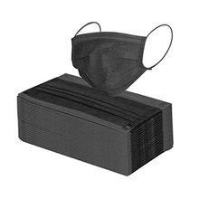 Masque anti-poussière jetable, 50 pièces, filtre de Protection contre la Pollution, le brouillard du vent, Protection faciale en tissu, tendance, PM2.5