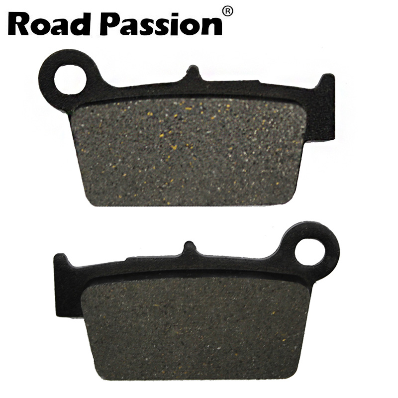 Motorcycle Rear Brake Pads for YAMAHA YZ450F YZ 450 F YZ <font><b>450F</b></font> 2003-2016 WR450F <font><b>WR</b></font> <font><b>450F</b></font> <font><b>WR</b></font> 450 F 2003-2014 image