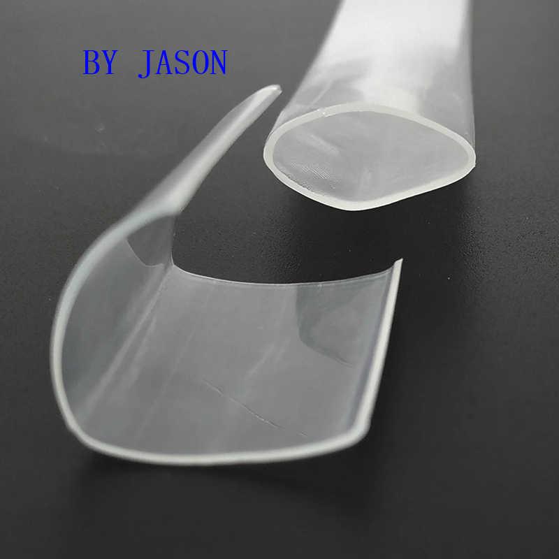 1 mètre Transparent Transparent thermorétractable Tube rétractable tube rétractable fil kits 2:1 thermorétractable Tube enveloppe fil vendre bricolage connecteur