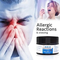 30g Rhinitis Sinusitis Cream 100% Natural Plant Extract Sinusitis Anti Nasal Discharge Sinusitis Nose Itch Rhinitis Ointment
