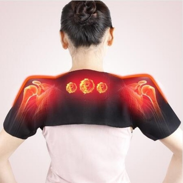 Tourmaline Self-heating Unisex Heat Therapy Pad Shoulder Protector Support Body Muscle Pain Relief Health Care Heating Belt 1