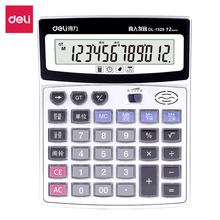 Deli Home office voice calculator 12 Digit Electronic Calculatory  Can display calendar Music clock Multifunction calculator deli home office voice calculator 12 digit electronic calculatory can display calendar music clock multifunction calculator