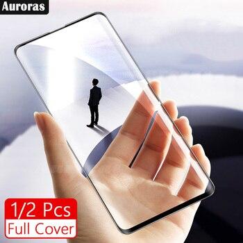 2 piezas para Samsung Galaxy A71 Protector de pantalla película de vidrio templado para Samsung A51 cubierta completa 3D película de pantalla