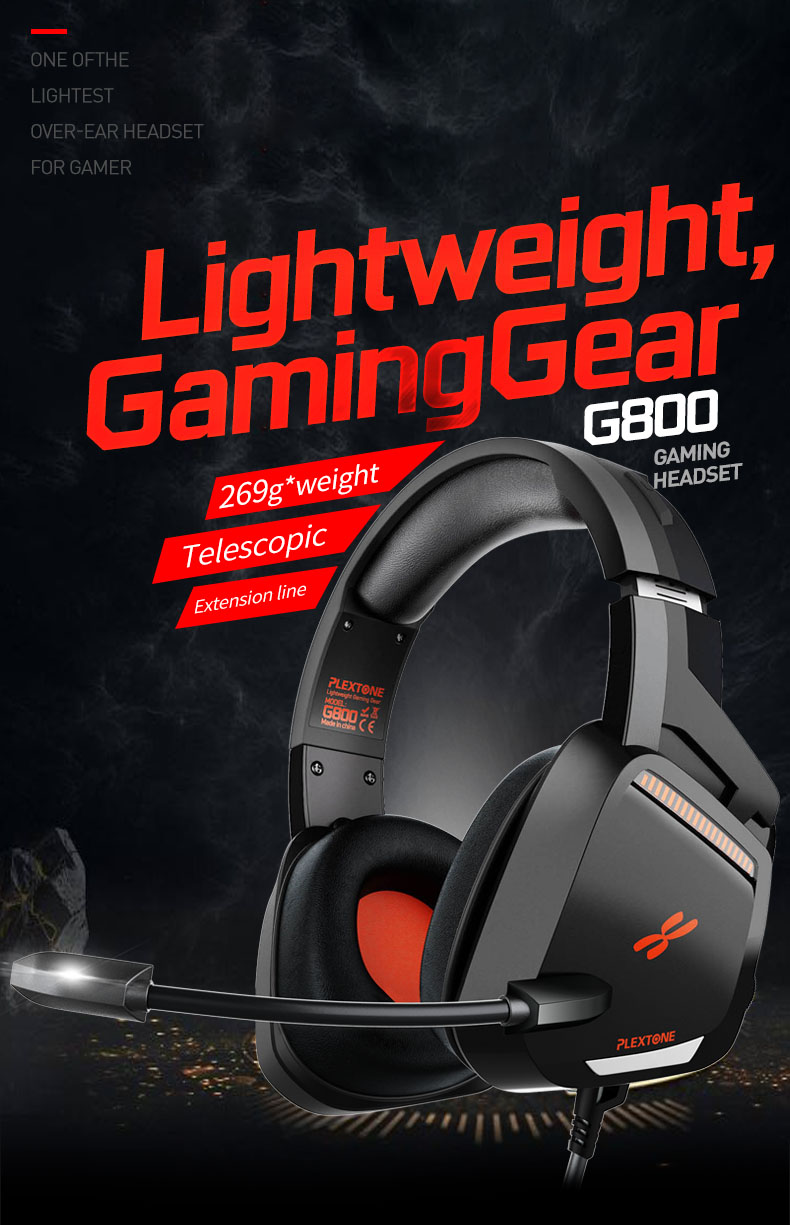 Plextone G800 Gaming Headset 1