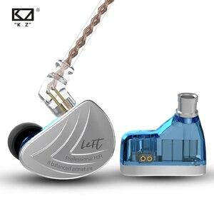 Image 3 - KZ AS16 8BA w ucho słuchawka wyważone armatura zestaw słuchawkowy wysokiej dźwięk Monitor jakości słuchawki HiFi KZ AS12 AS10 BA10 AS06 C16 C12